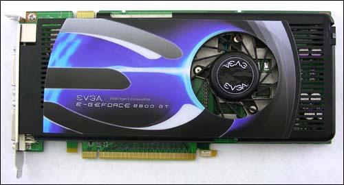 EVGA'dan 256MB bellekli GeForce 8800GT