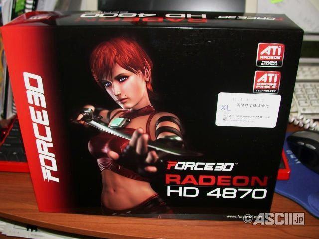 Force3D Radeon HD 4870 modelini kullanıma sundu