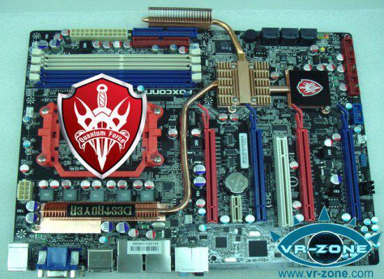 Foxconn'dan Quantum Force Destroyer ve DFI'dan LanParty X48 geliyor
