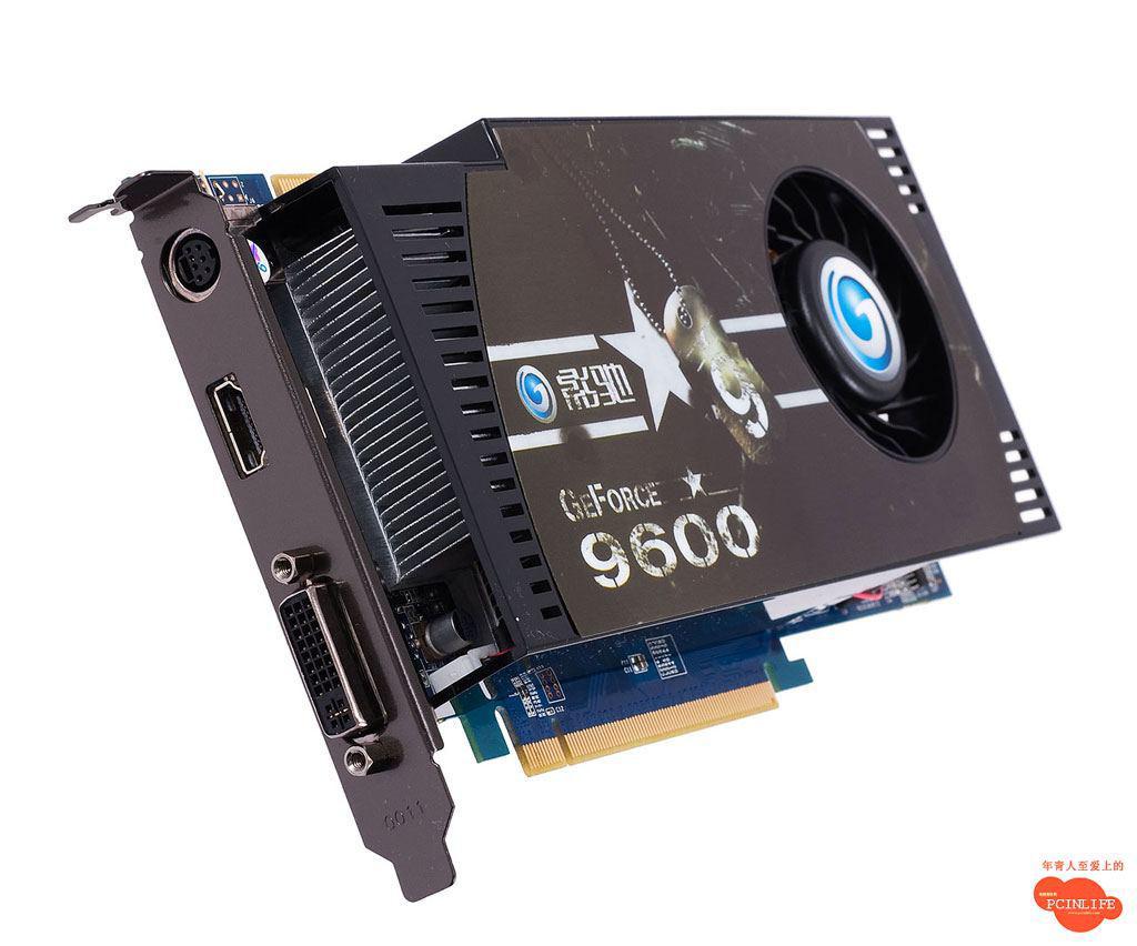 Galaxy'den 0.8ns bellekli ve HDMI destekli yeni GeForce 9600GSO
