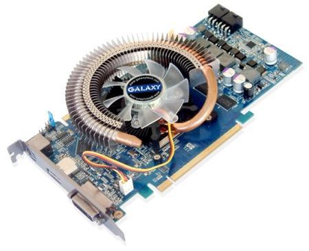 Galaxy'den HDMI destekli GeForce 8800GT