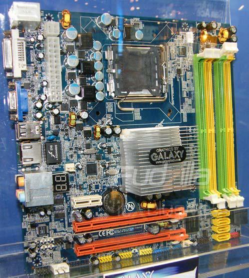 Computex 2008: Galaxy'den SLI ve Hybrid SLI destekli anakart