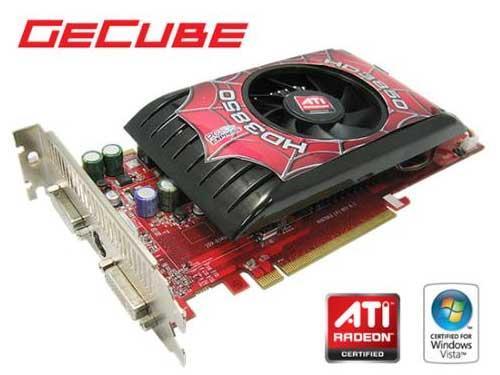GeCube'den özel soğutuculu yeni Radeon HD 3850