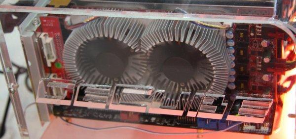 Computex 2008: GeCube Radeon HD 3850 X2 modelini tanıtıyor