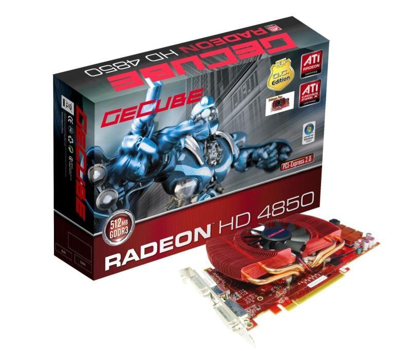 GeCube'den Radeon HD 4850 Overclocking Edition