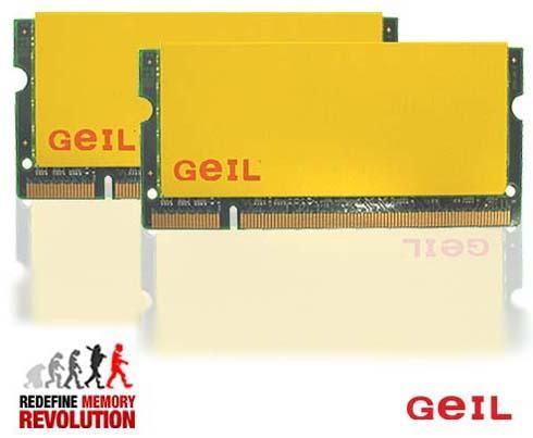 GeIL'dan özel soğutmalı SO-DIMM bellekler