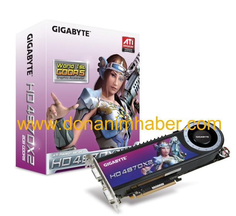 DH Özel: Gigabyte Radeon HD 4870 X2 gün ışığına çıktı