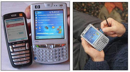HP'nin küçük ama bir o kadarda işlevsel yeni iletişim cihazı ; h6500 Messenger