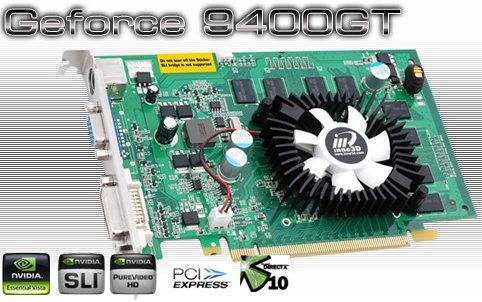 Inno3D GeForce 9400GT tabanlı yeni ekran kartını duyurdu