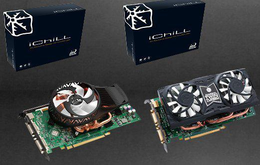 Inno3D i-Chill GeForce 9800 GT Hurricane ve Twin Turbo modellerini duyurdu