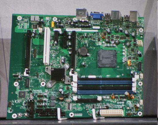 Intel'in Havendale serisi işlemcilerinde kullanılacak anakart göründü