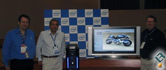 Intel: 'Barcelona başlamadan bitti' 45nm Penryn işlemciler V8 ile testte