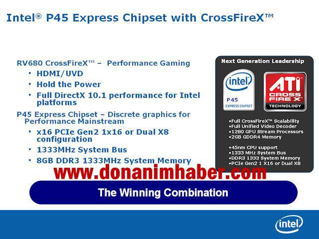 Intel'in P45 ve G45 yonga setleri de ertelendi