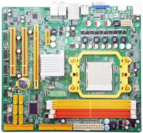 Jetway'den AMD platformu için MCP78S yonga setli yeni anakart