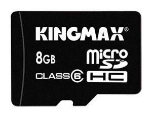 Kingmax'den 8GB'lık yeni microSDHC bellek kartı