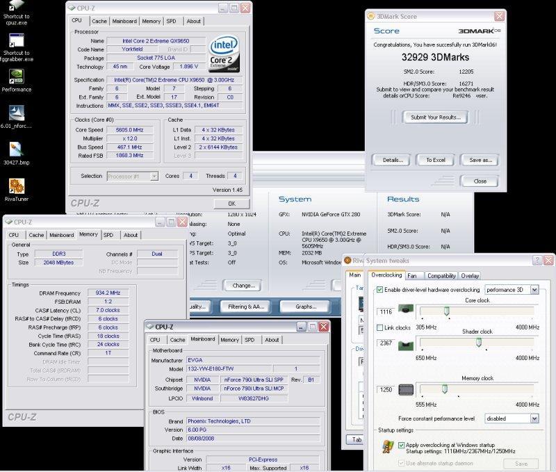 Shamino ve K1NGP1N'den 3DMark 06 için yeni dünya rekoru