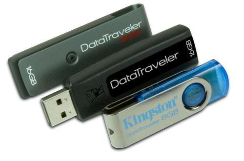 Kingston ikisi 16GB'lık üç yeni usb belleğini duyurdu