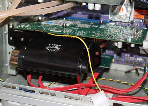 Sytrin KuFormula VF1 ; yeni yüksek performanslı VGA soğutucu