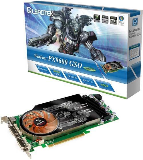 Leadtek GeForce 9600GSO Extreme modelini duyurdu