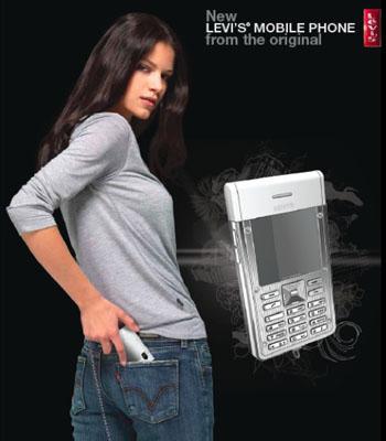 Pantoloncu Levi's cep telefonu pazarına giriyor