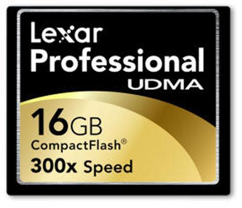 Lexar'dan 45MB/sn yazma hızına sahip yeni CF bellek kartı