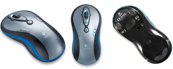 Logitech'den Uzaktan Kumanda ve Mouse karışımı ; MediaPlay Cordless Mouse