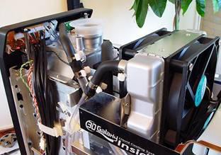 Gigabyte'dan dahili su soğutmalı kasa; Gigabyte Mercury Pro (Water Cooled)