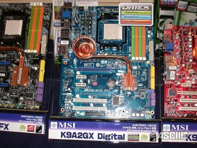 MSI'dan 790GX yonga setli yeni anakart; K9A2GX Digital
