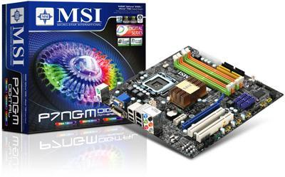 MSI'dan GeForce 9300 yonga setli P7NGM serisi anakartlar