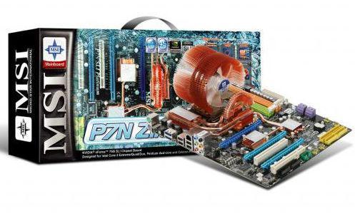 MSI'dan Zalman soğutmalı yeni anakart; P7N SLI Zilent