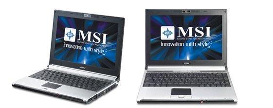 MSI'dan Centrino 2 tabanlı yeni dizüstü bilgisayar; PX200