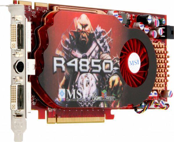 MSI'dan Radeon HD 4850 Quad Crossfire