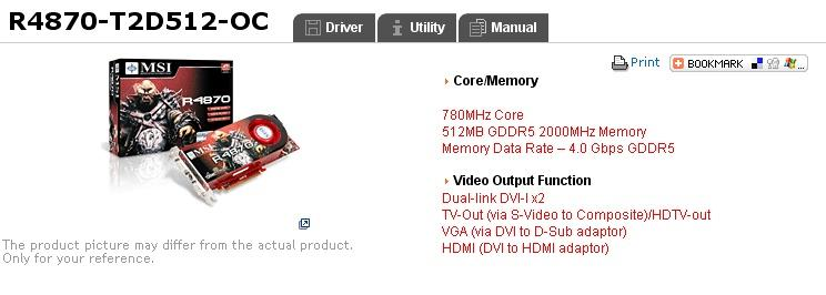 MSI'dan Radeon HD 4870 Overclock Edition geliyor