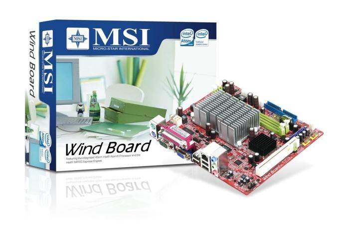 MSI Atom işlemcili yeni anakartı Wind Board'u resmen duyurdu
