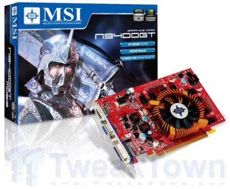 MSI'ın GeForce 9400GT modelleri gün ışığına çıktı