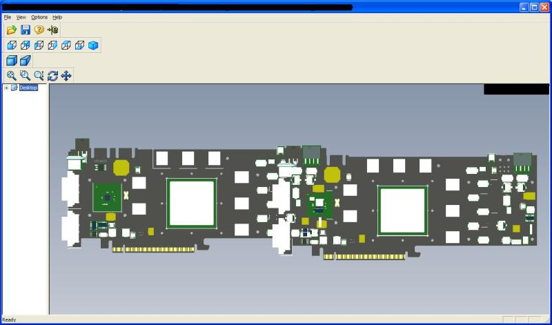 GeForce 9900 serisine ait olduğu iddia edilen mühendislik çizimleri ?