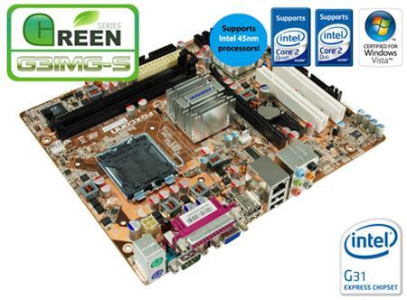 Foxconn'dan Green serisi G31 çipsetli yeni anakart