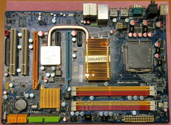 MSI'dan X48 yonga setli X48 Platinum - Gigabyte'dan nForce 750i SLI yonga setli 750i SLI-DS4