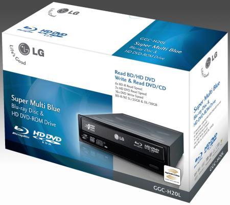 LG'den Blu Ray ve HD DVD destekli yeni sürücü