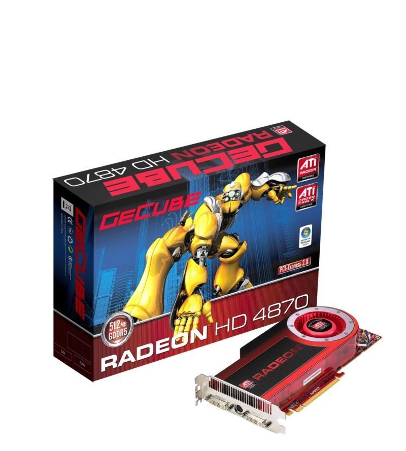 GeCube Radeon HD 4870 modelini duyurdu