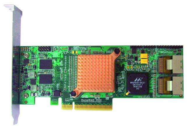 HighPoint'den endüstrinin en hızlı 8-port RAID kontrolcüsü