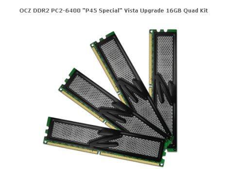 OCZ P45 yonga setine özel yüksek kapasitesli DDR2 bellek kitleri hazırladı