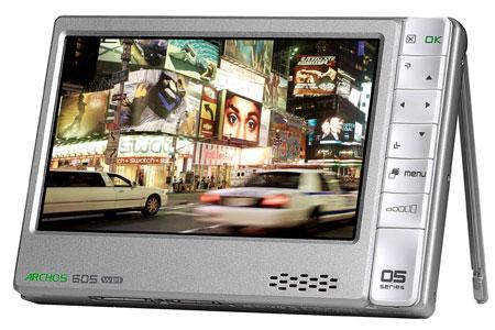 ARCHOS 605 WI-FI; medya oynatıcılarda youtube devri başlıyor