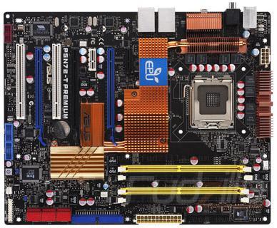 Asus'dan nForce 780i SLI yonga setli yeni anakart; P5N72-T Premium