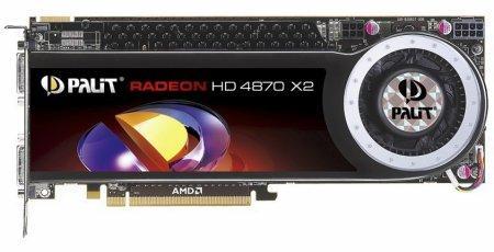 Palit Radeon HD 4870 X2 modelini duyurdu