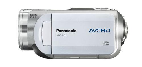Panasonic'den SD karta ve DVD ye AVCHD video kaydı yapan 2 yeni kamera; HDC-SD1 ve HDC-DX1