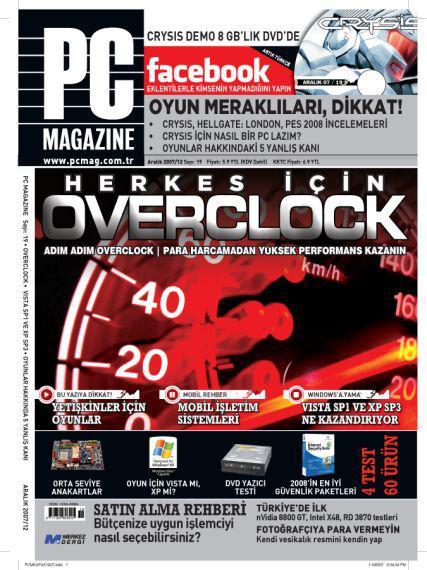 Bilgisayar dergilerinde Aralık 2007