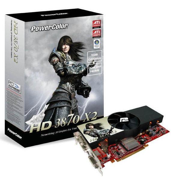 GDDR4 bellekli HD 3870 X2 fiyatları belli olmaya başladı