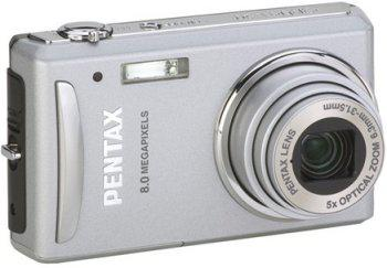 Pentax 8MP'lik yeni kamerası Optio V20'yi duyurdu