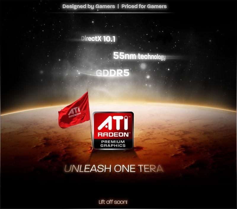 ATi'nin Radeon HD 4800 serisi için hazırlanan tanıtım sitesi yayında